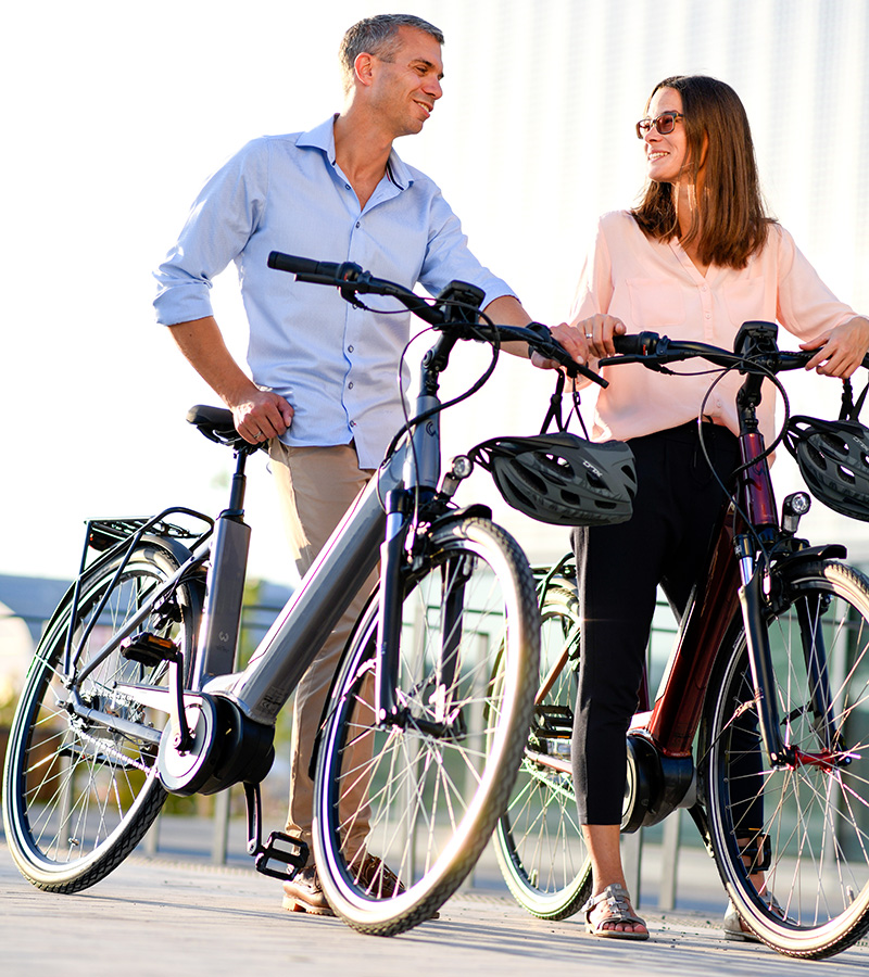 Fahrräder Pärchen